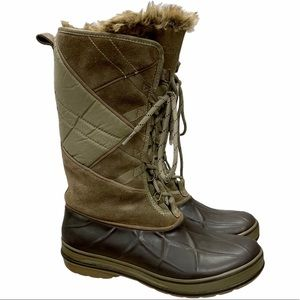 Clark's Muckers Duck Boots Faux Fur Lined Boots